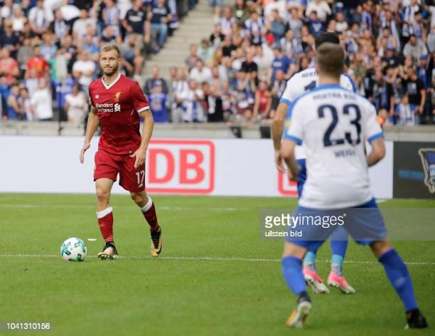 Ragnar Klavan FC Liverpool Deutschland Berlin Olympiastadion 1 Bundesliga 2017/18 Jubiläumsspiel anlässlich des 125jährigen Klubbestehens Hertha BSC...