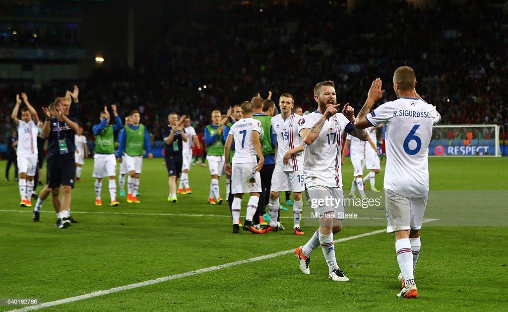 Portugal v Iceland - Group F: UEFA Euro 2016 : News Photo