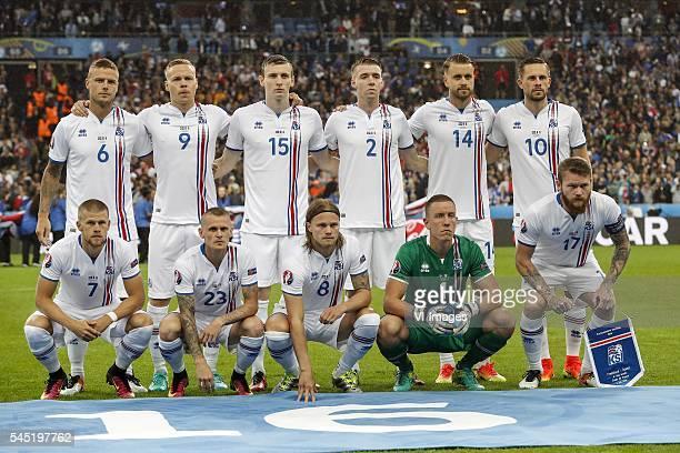 Ragnar Sigurdsson of Iceland Kolbeinn Sighorsson of Iceland Jon Dadi Bodvarsson of Iceland Birkir Mar Saevarsson of Iceland Kari Arnason of Iceland...