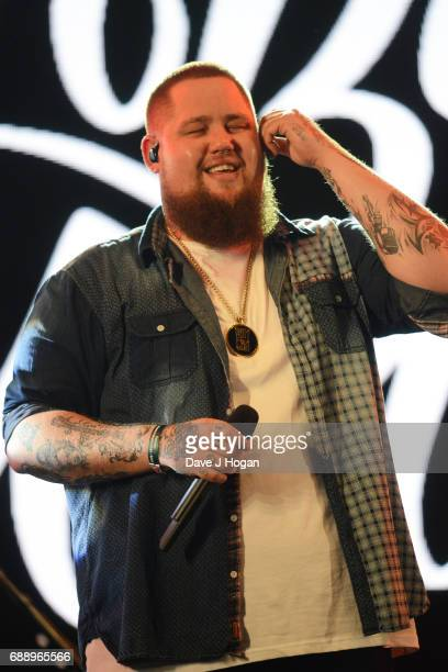 Rag'n'Bone Man attends Day 1 of BBC Radio 1's Big Weekend 2017 at Burton Constable Hall on May 27 2017 in Hull United Kingdom