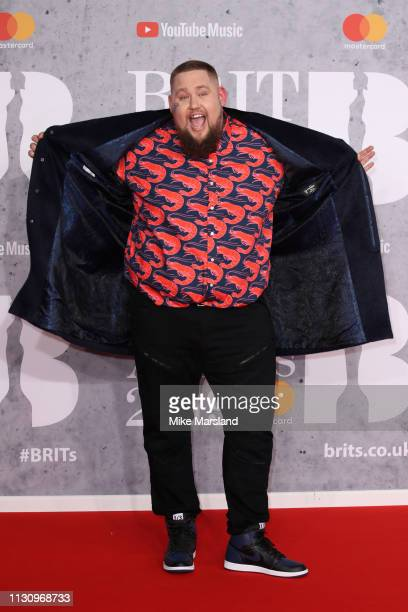 Rag'n'Bone Man attends The BRIT Awards 2019 held at The O2 Arena on February 20 2019 in London England