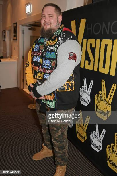 Rag'n'Bone Man attends the inaugural Visionary Honours Awards at BAFTA Piccadilly on February 8 2019 in London England