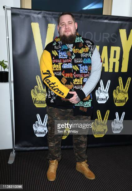 Rag'n'bone Man attends the UK's first prize celebrating social change in entertainment and media at BAFTA on February 08 2019 in London England