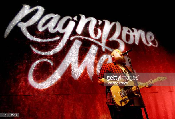 Rag'n'Bone Man performs a sold out show at Manchester Academy on April 22 2017 in Manchester United Kingdom