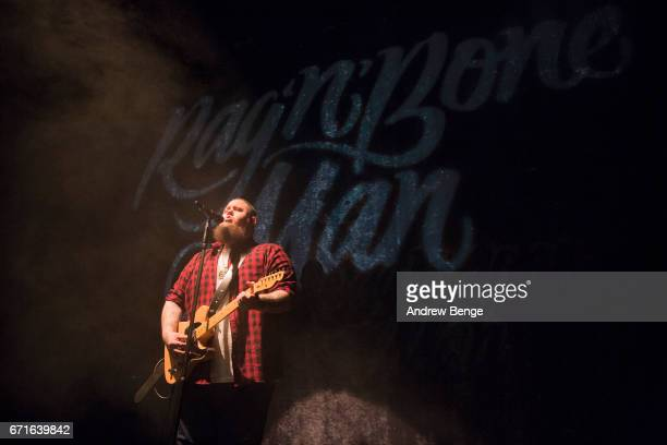 Rag'n'Bone Man performs at Manchester Academy on April 22 2017 in Manchester United Kingdom