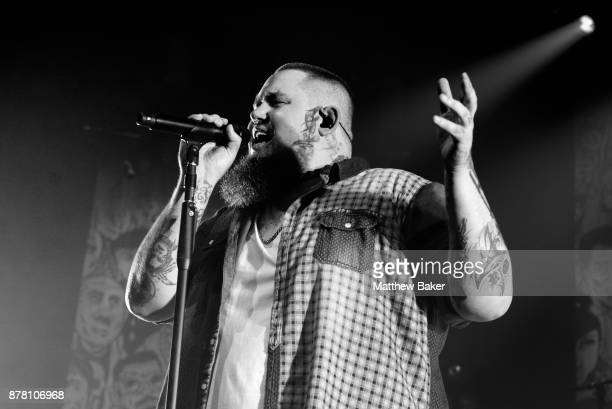 Rag'n'Bone Man performs at O2 Academy Brixton on November 23 2017 in London England