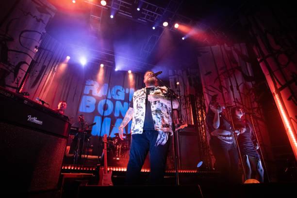 GBR: Rag'n'Bone Man Performs At O2 Academy, Leeds