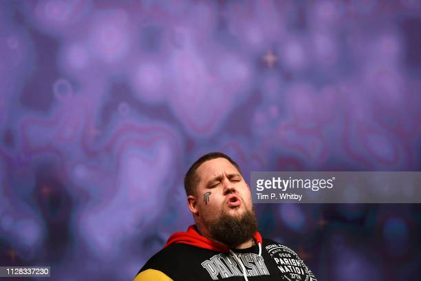 Rag'n'Bone Man performs at the UK's first prize celebrating social change in entertainment and media at BAFTA on February 08 2019 in London England
