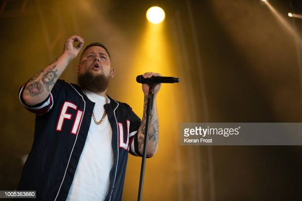 Rag'n'Bone Man performs at Trinity College Park on July 25, 2018 in Dublin, Ireland.