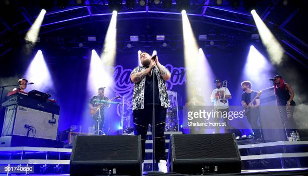 RagnBone Man Performs Live On Stage During Sounds Of The City At