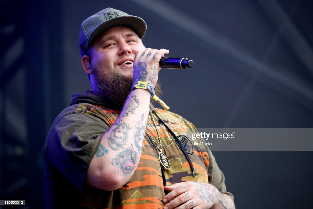 Rag'n'Bone Man performs on the Sutro Stage during the 2017 Outside Lands Music And Arts Festival at Golden Gate Park on August 11, 2017 in San Francisco, California.