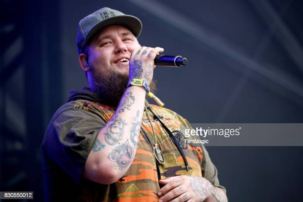 Rag'n'Bone Man performs on the Sutro Stage during the 2017 Outside Lands Music And Arts Festival at Golden Gate Park on August 11 2017 in San...