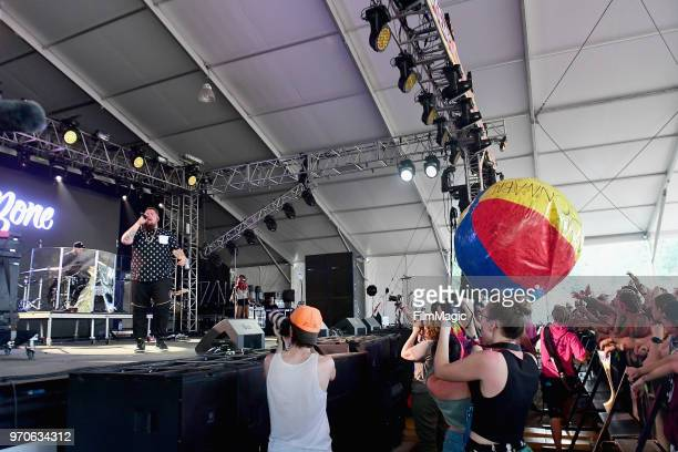 Rag'n'Bone Man performs onstage at This Tent during day 3 of the 2018 Bonnaroo Arts And Music Festival on June 9 2018 in Manchester Tennessee