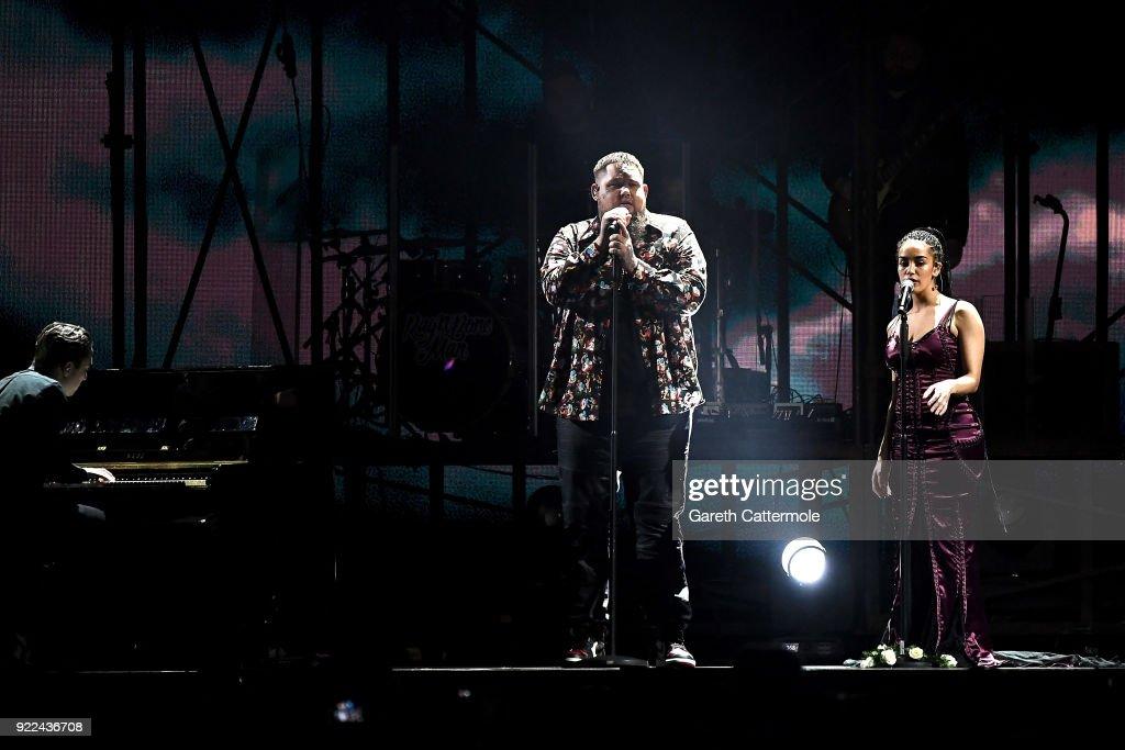 The BRIT Awards 2018 - Show : Photo d'actualité