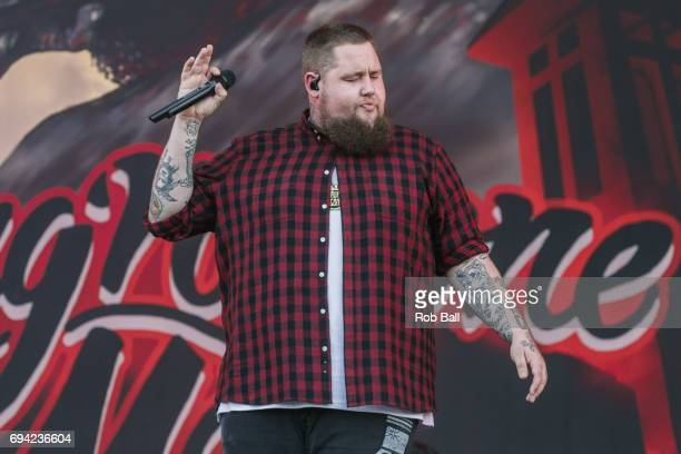 Rag'n'Bone Man real name Rory Charles Graham performs on day 2 of The Isle of Wight festival at Seaclose Park on June 9 2017 in Newport Isle of Wight
