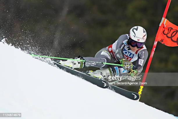 Ragnhild Mowinckel of Norway in action during the FIS World Ski Championships Women's Giant Slalom on February 14 2019 in Are Sweden