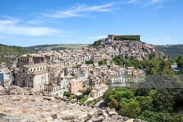 Ragusa Ibla cityscape, Sicily Italy