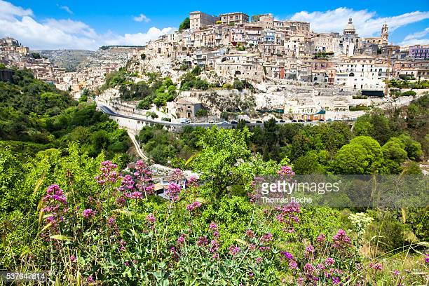 Ragusa Ibla the lower part of the town