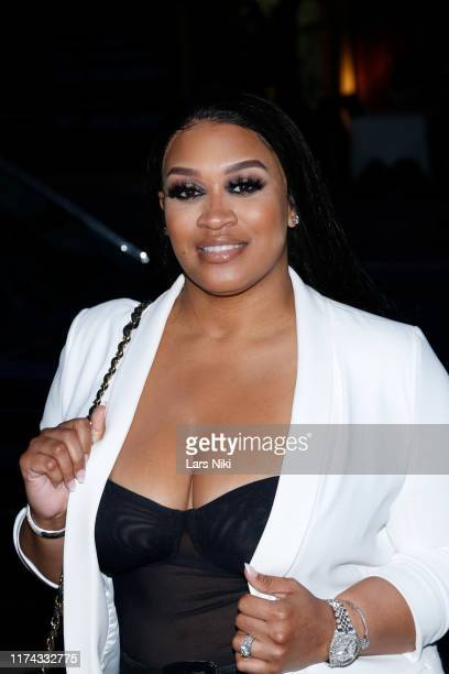 Rah Ali attends Tiffany Panhilason's NYFW Fundraising Event For Mentari on September 12 2019 in New York City