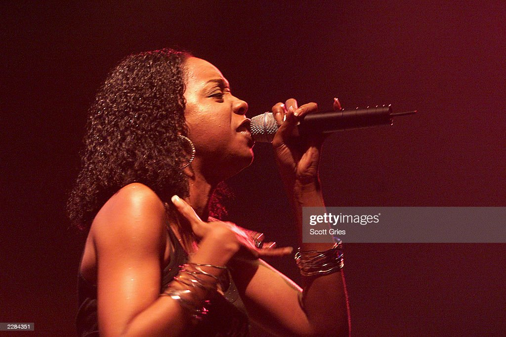 Rah Digga performs at the MTV2 Sisters for Hip-Hop & Soul Tour at the Roseland Ballroom in New York City. 11/9/01 Photo by Scott Gries/ImageDirect
