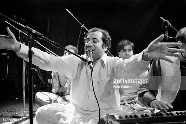 Rahat Nusrat Fateh Ali Khan performing at the Bowery Ballroom in New York City on June 122001