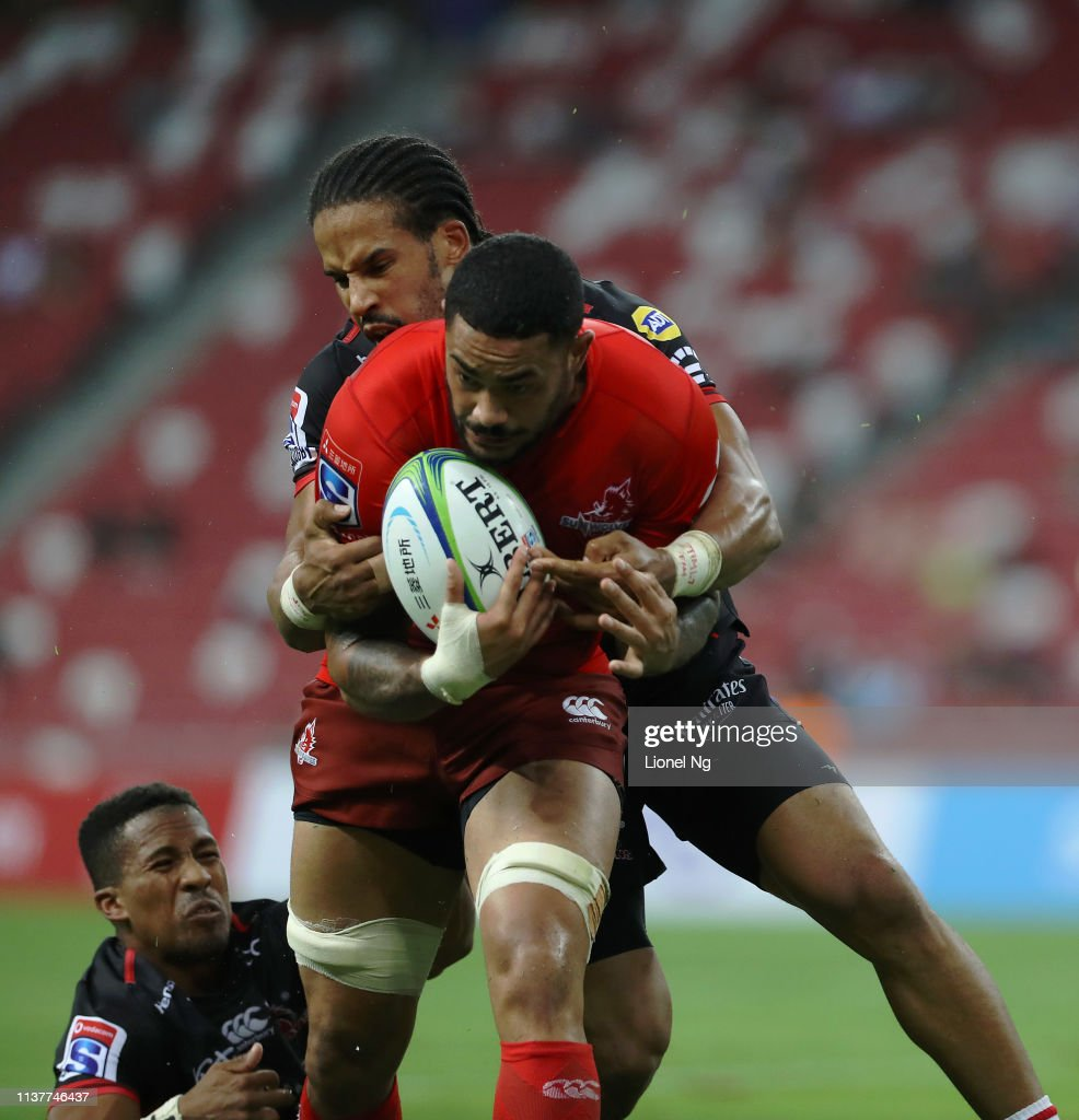 Super Rugby Rd 6 - Sunwolves v Lions : News Photo