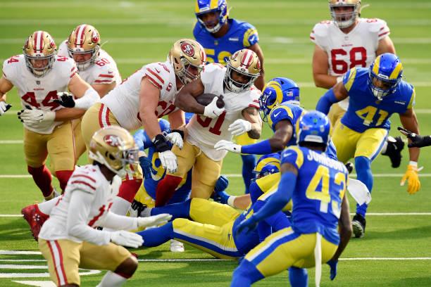 CA: San Francisco 49ers v Los Angeles Rams