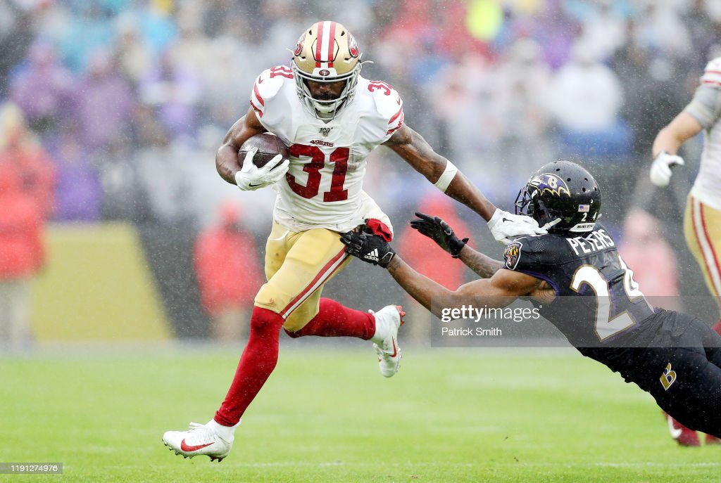 San Francisco 49ers v Baltimore Ravens : News Photo