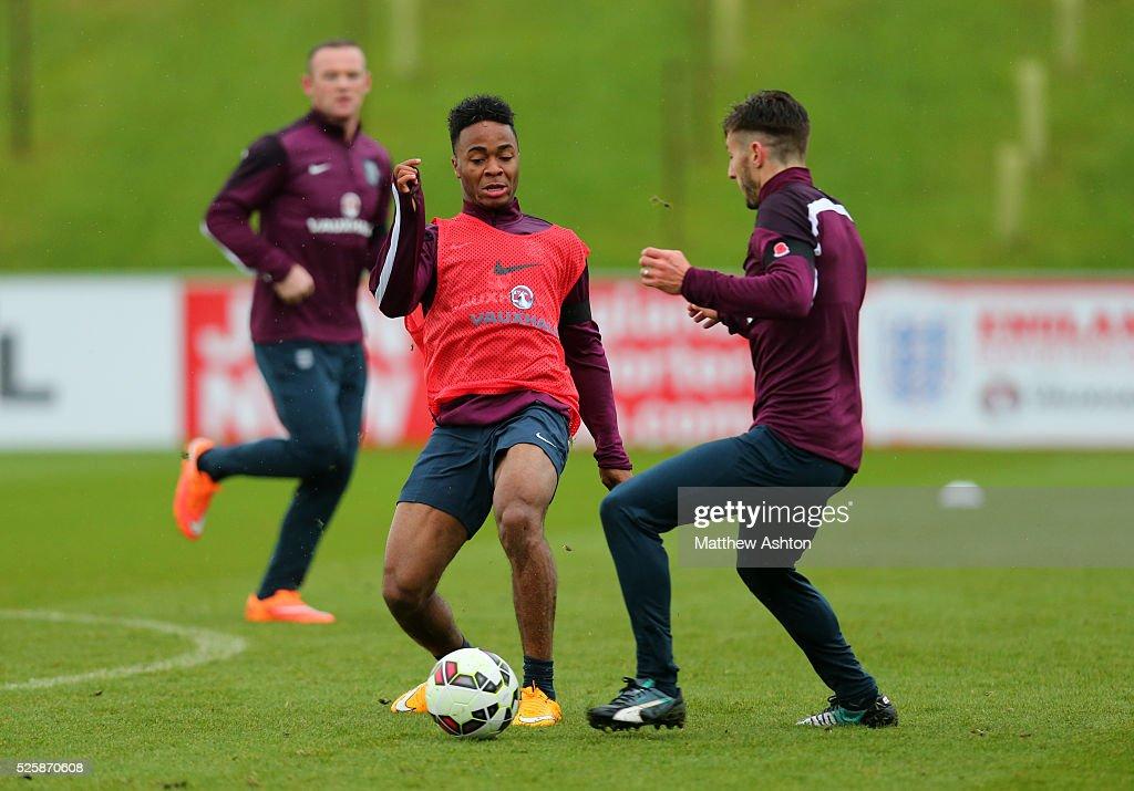 SOCCER : International Football - England Training at St Georges Park : News Photo