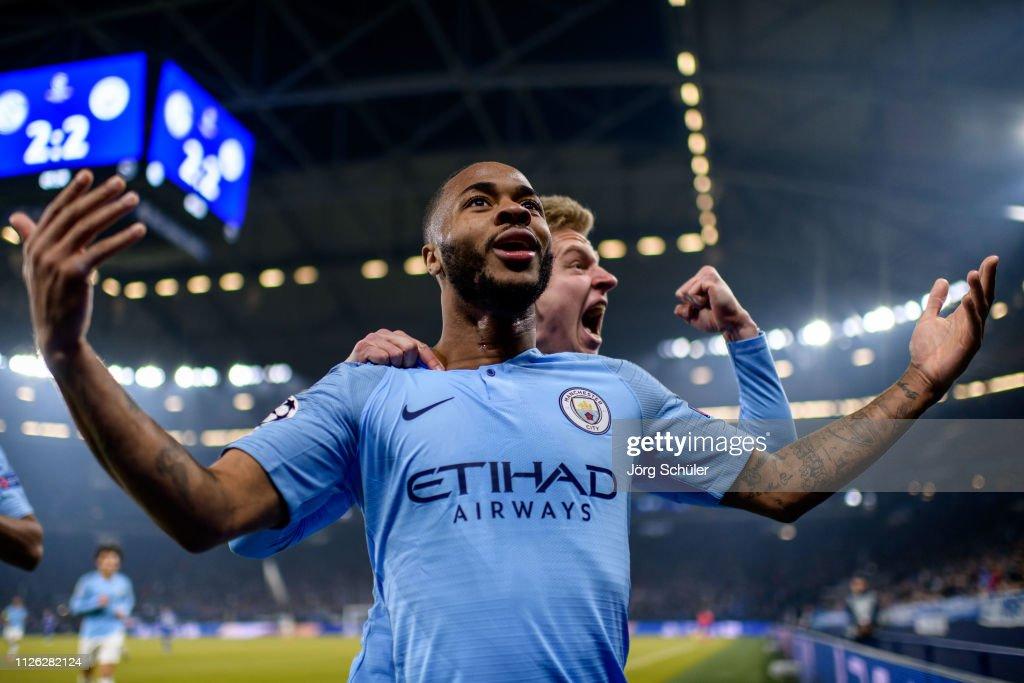 DEU: FC Schalke 04 v Manchester City - UEFA Champions League Round of 16: First Leg
