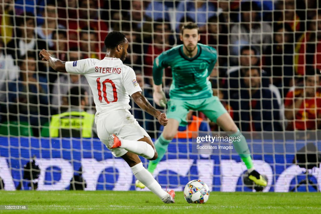 Spain  v England  -UEFA Nations league : News Photo