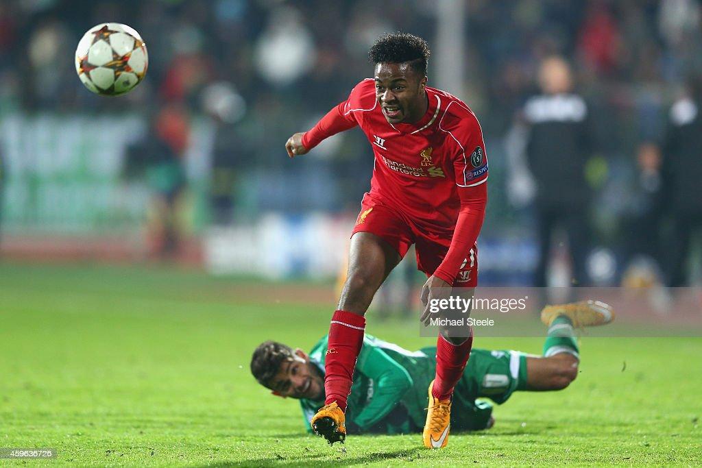 PFC Ludogorets Razgrad v Liverpool FC - UEFA Champions League : News Photo