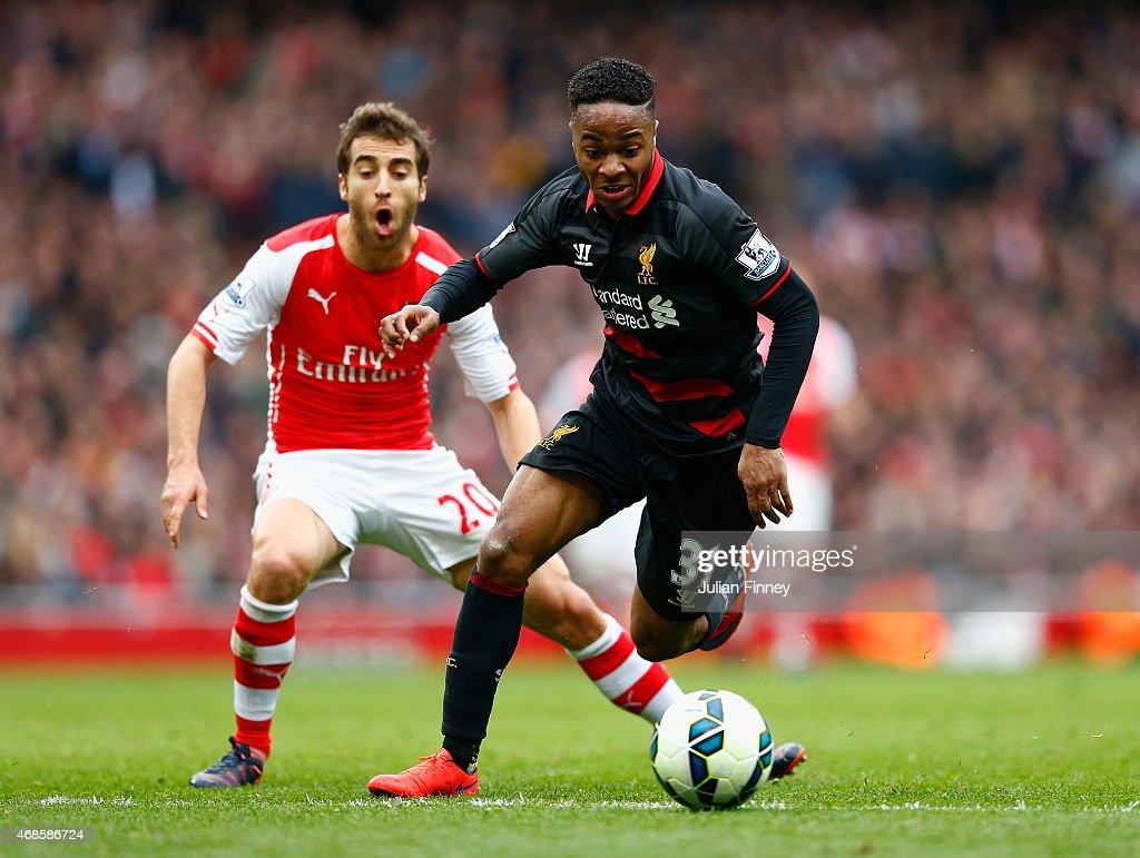 Arsenal v Liverpool - Premier League : Photo d'actualité