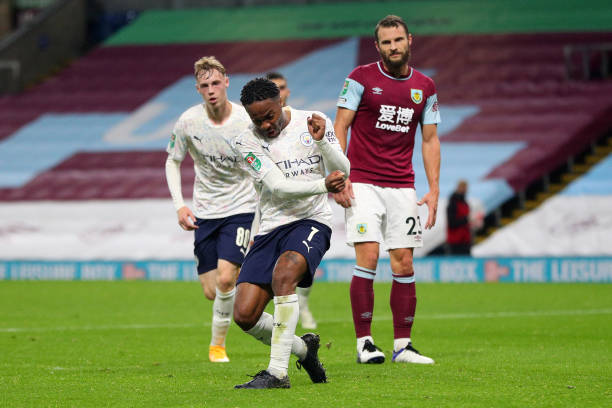 GBR: Burnley v Manchester City - Carabao Cup Fourth Round
