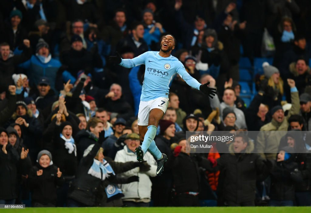 https://media.gettyimages.com/photos/raheem-sterling-of-manchester-city-celebrates-after-scoring-his-sides-picture-id881994650