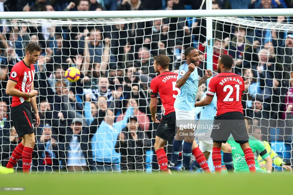 Manchester City v Southampton FC - Premier League : News Photo