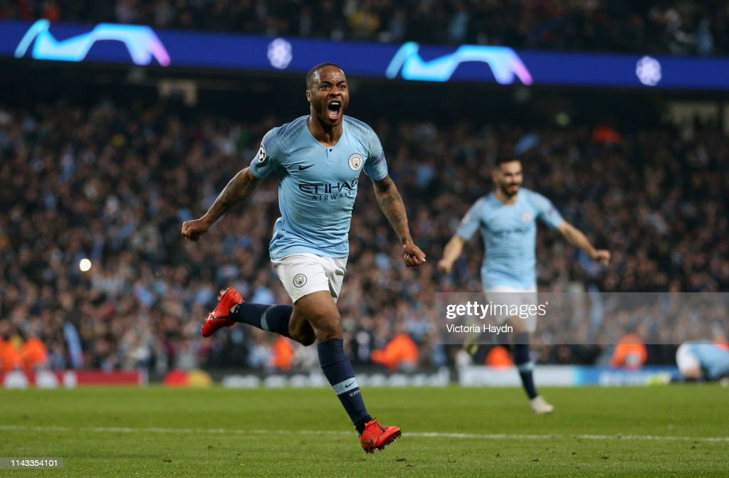 Manchester City v Tottenham Hotspur - UEFA Champions League Quarter Final: Second Leg : News Photo