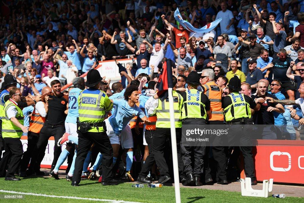 AFC Bournemouth v Manchester City - Premier League : News Photo