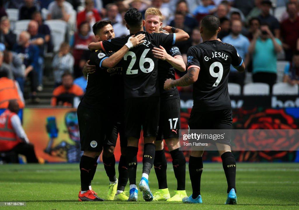 West Ham United v Manchester City - Premier League : ニュース写真