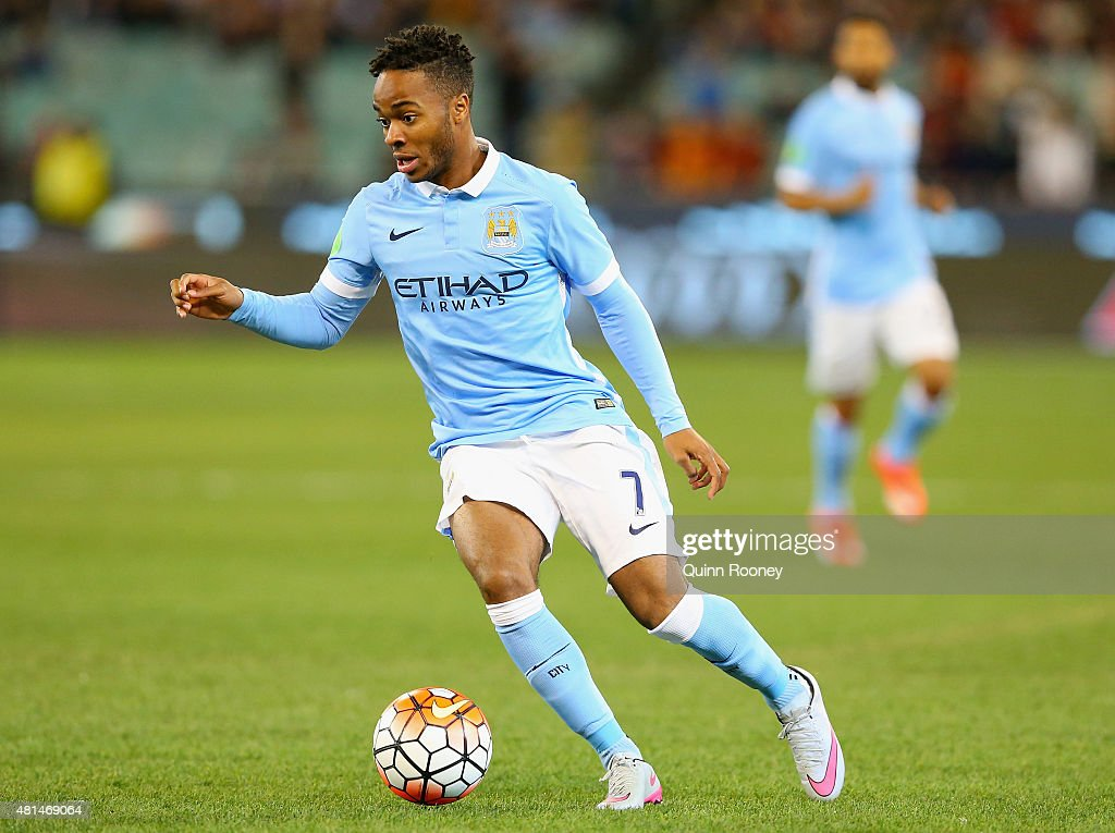 Manchester City vs  AS Roma : News Photo