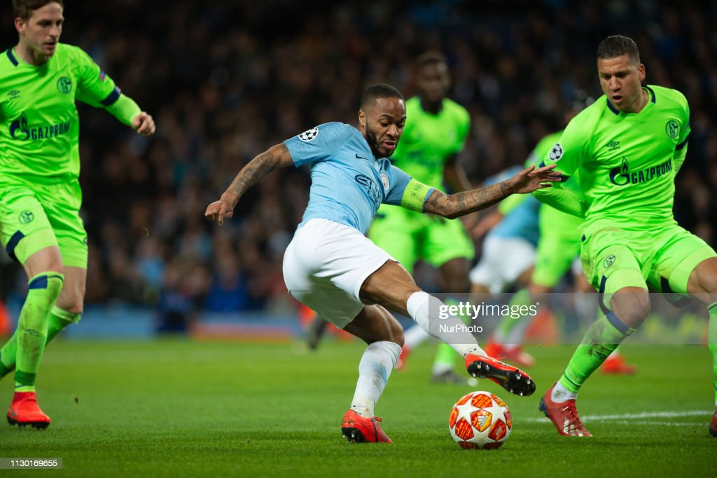 Manchester City v FC Schalke 04 - UEFA Champions League Round of 16: Second Leg : News Photo