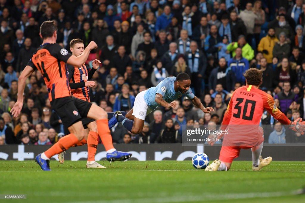 Manchester City v FC Shakhtar Donetsk - UEFA Champions League Group F : News Photo