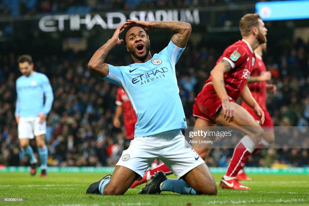 Manchester City v Bristol City - Carabao Cup Semi-Final: First Leg : News Photo