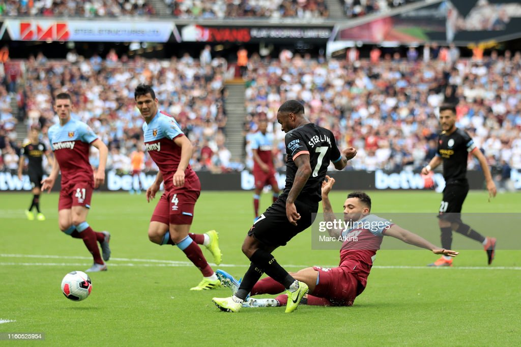 West Ham United v Manchester City - Premier League : Nachrichtenfoto