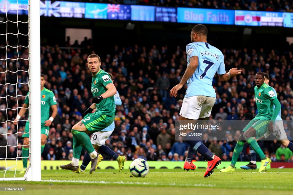 Manchester City v Watford FC - Premier League : News Photo