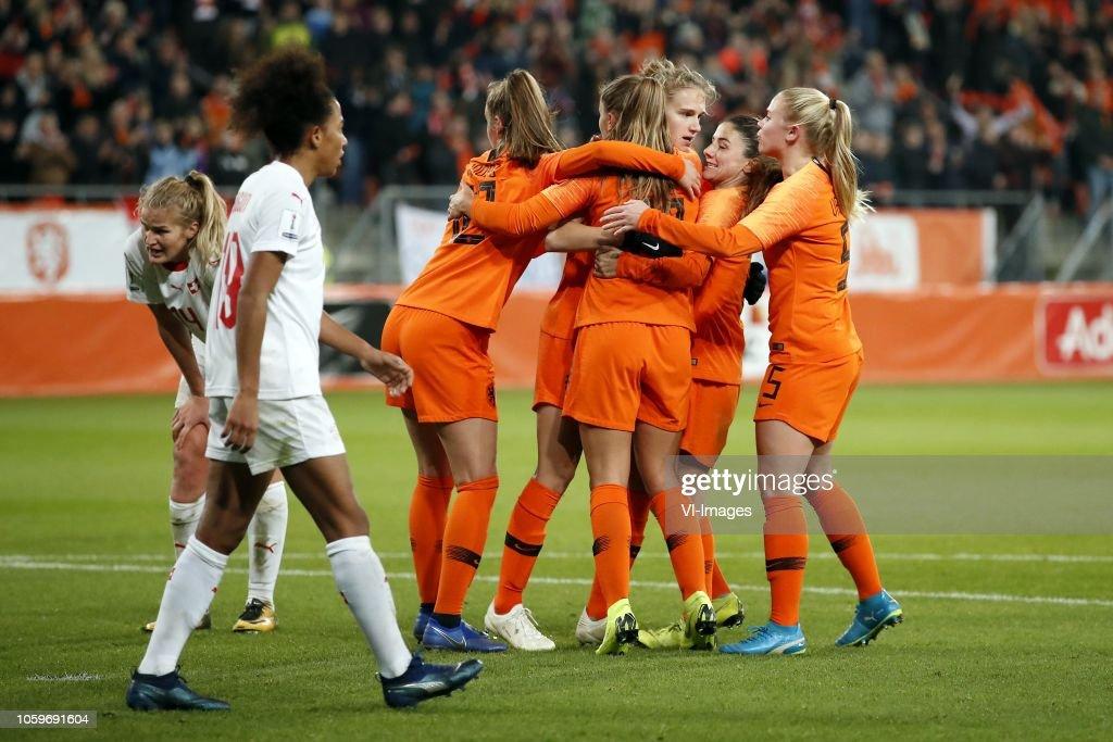 "FIFA Women's World Cup 2019 play off final""Women: The Netherlands v Switzerland"" : News Photo"
