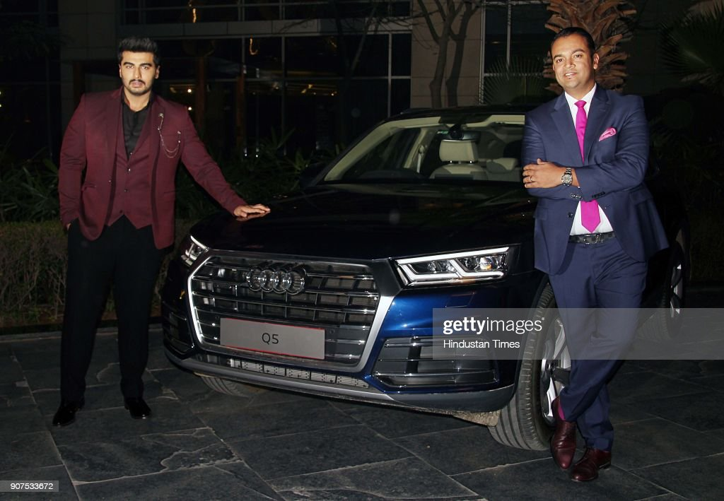 Bollywood Actor Arjun Kapoor Launches Audi Q5 In Delhi
