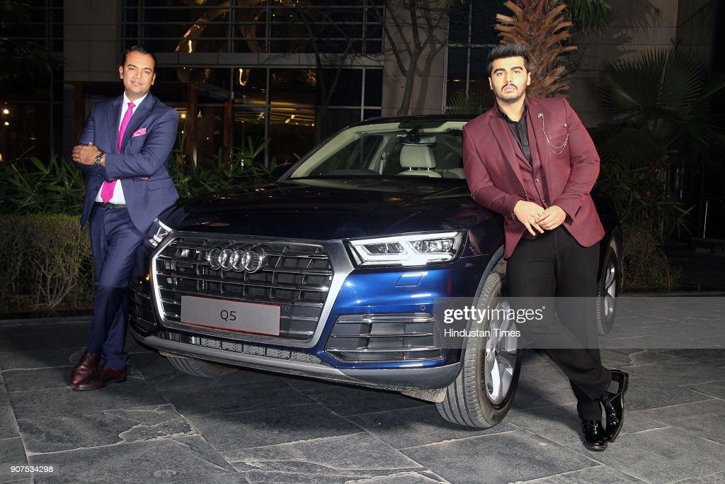 Bollywood Actor Arjun Kapoor Launches Audi Q5 In Delhi