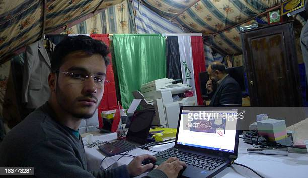 Rahim Khalil is the webmaster for Sunni protesters on Iraq's main highway to Jordan The protest againsts the Shiiteled government in Baghdad began at...