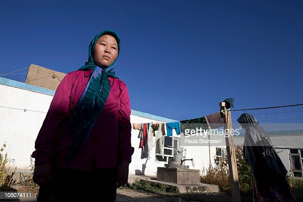 Rahima poses outside a women's shelter October 8 2010 in Bamiyan Afghanistan Rahima from Maydan Wardak was a child bride forced to marry at age 11...